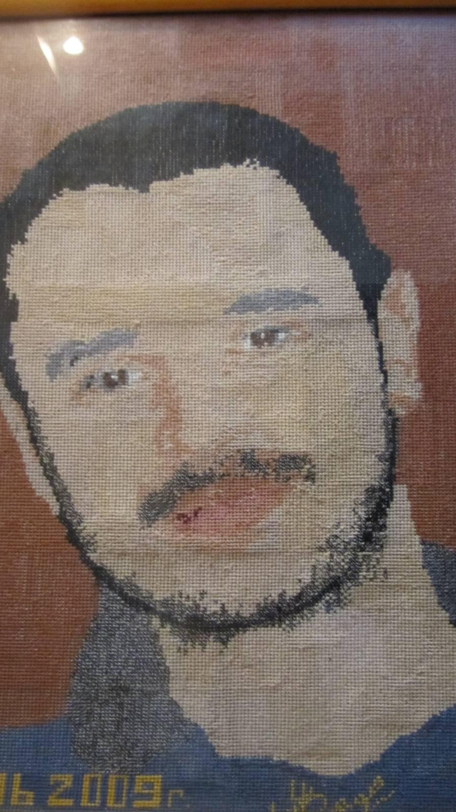 Вышивка своего портрета